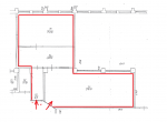 1.stāvs 74.,75.,77.telpa plāns