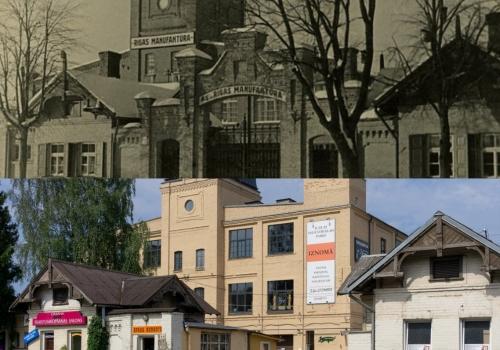 Manufaktūras un Mārkalnes kvartāla vēsture