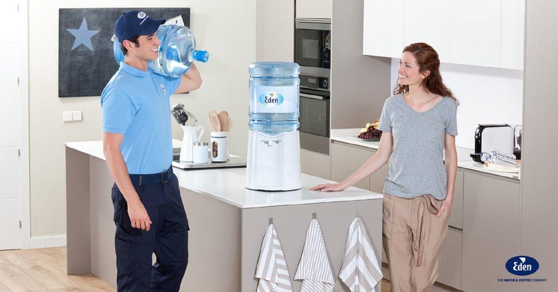 Ūdens un kafijas eksperti uzņēmumiem – Eden Springs