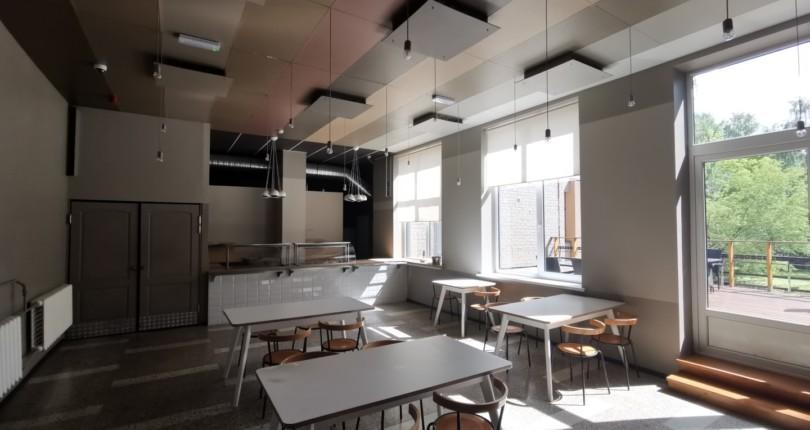 """""""Twenty 9"""" kafejnīca Braslas biznesa centrā"""