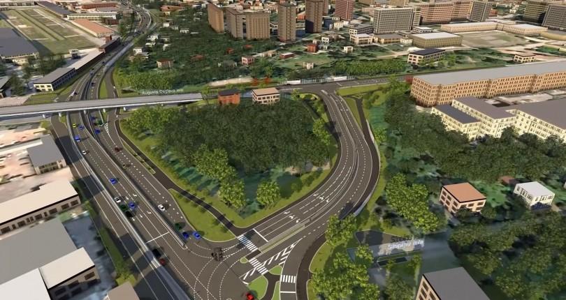 Sakarā ar Rīgas Austrumu maģistrāles 1. kārtas būvniecību mainīs satiksmes organizāciju