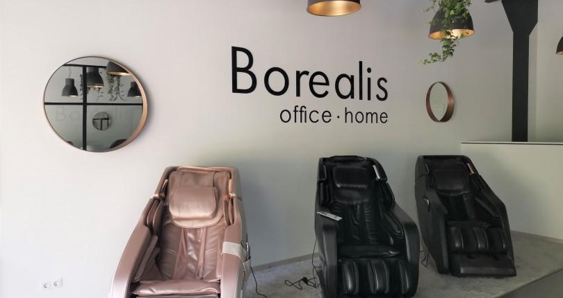 Braslas Biznesa centrā atvēries Borealis masāžas krēslu salons